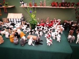 udsnit af udstillingen på landbrugsmessen