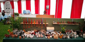 udstilling på landbrugsmessen